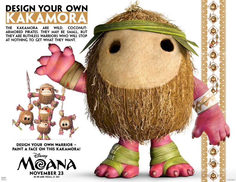Warriors Coloring Pages - Moana Printable Activity and Coloring Pages – the Bandit