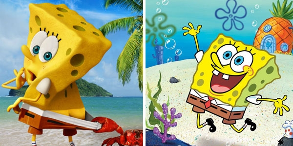 water coloring pages - SpongeBob SquarePants Announces Movie With Cheeky Poster