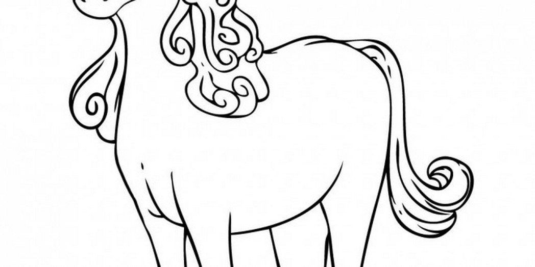 western coloring pages - cartoon unicorn coloring pages cute