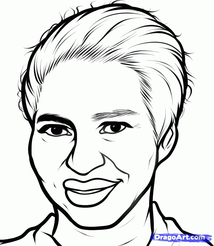 western coloring pages - printable pictures of rosa parks
