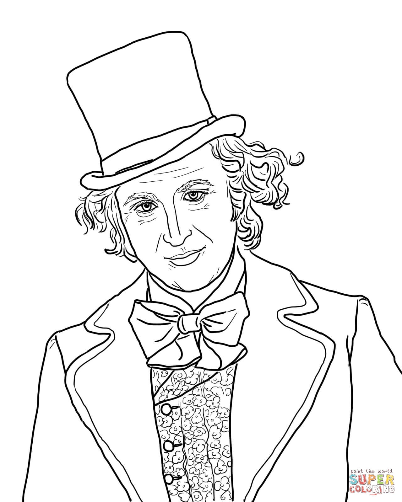 willy wonka coloring pages - willy wonka chocolate bar coloring page sketch templates