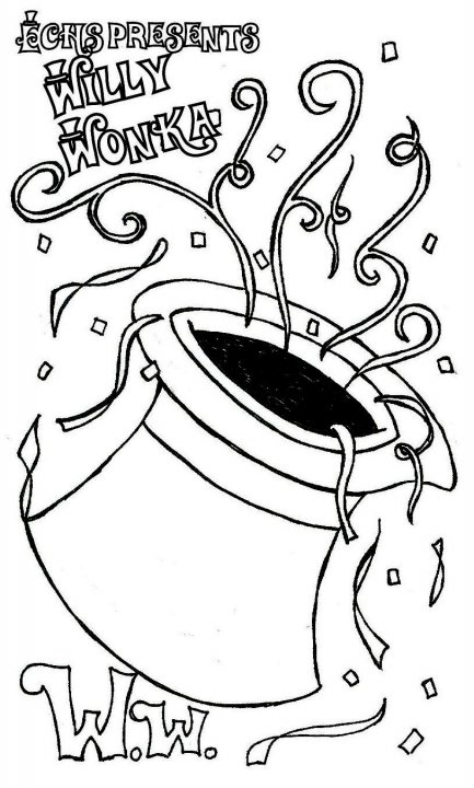 willy wonka coloring pages - willy wonka colouring page