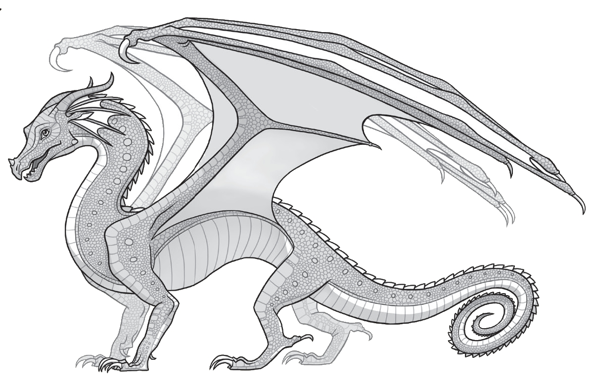 wings of fire coloring pages - r=wings of fire mud wing