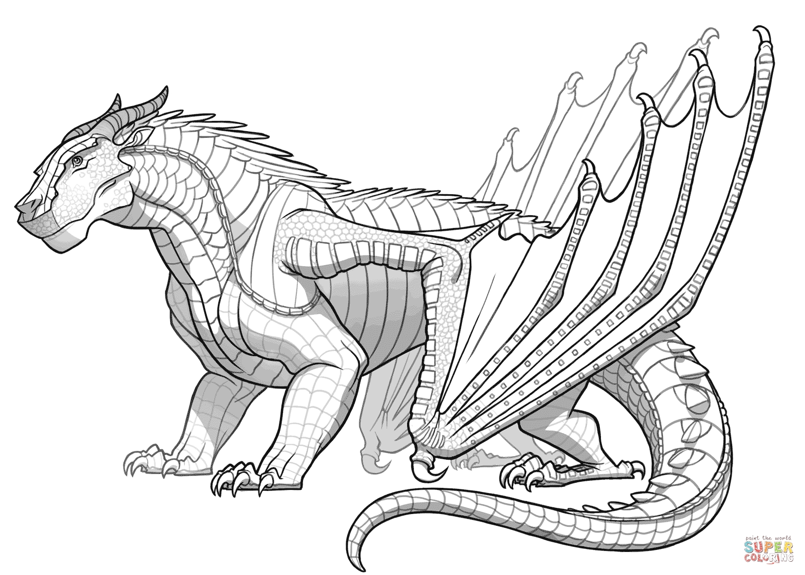 wings of fire coloring pages - skywing coloring pages sketch templates