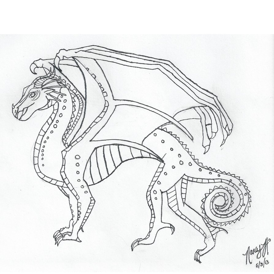 20 Wings Of Fire Coloring Pages Images Free Coloring Pages