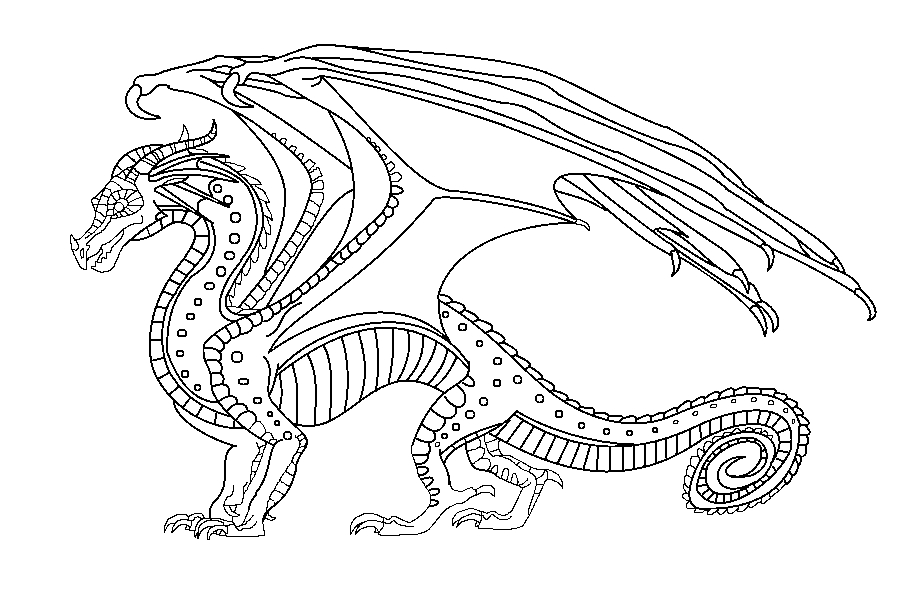 wings of fire coloring pages - sunny wings of fire coloring pages sketch templates