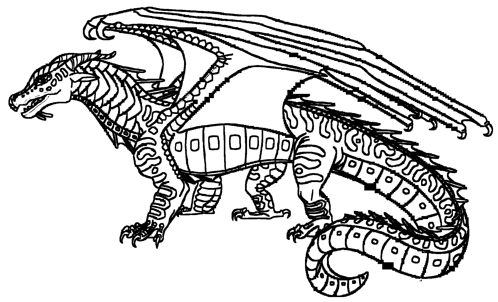 20 Wings Of Fire Coloring Pages Images | FREE COLORING PAGES