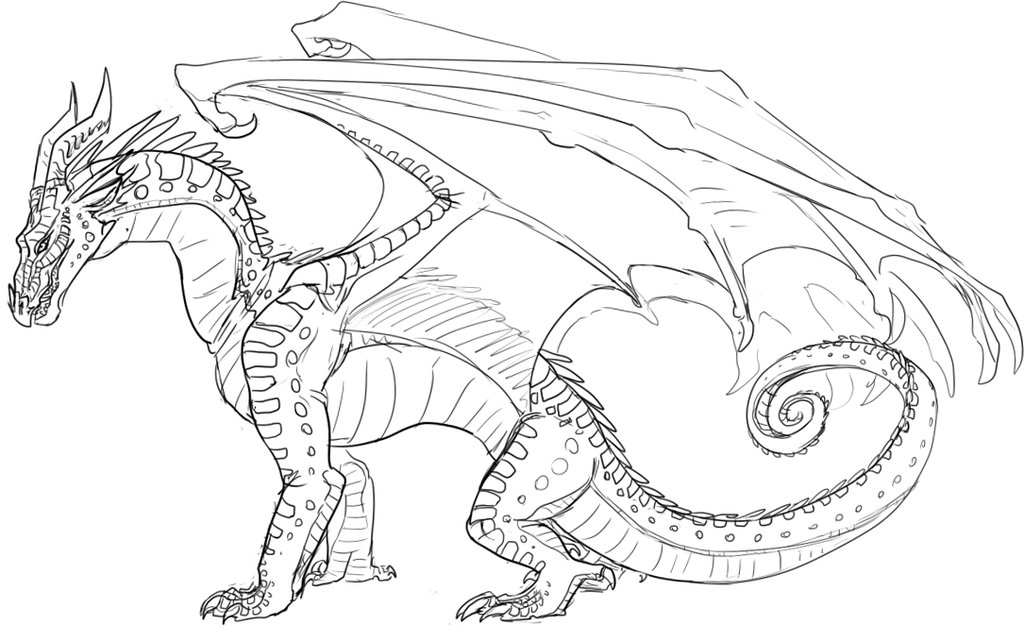 Colorful Wings Of Fire Coloring Pages Sketch Framing Coloring