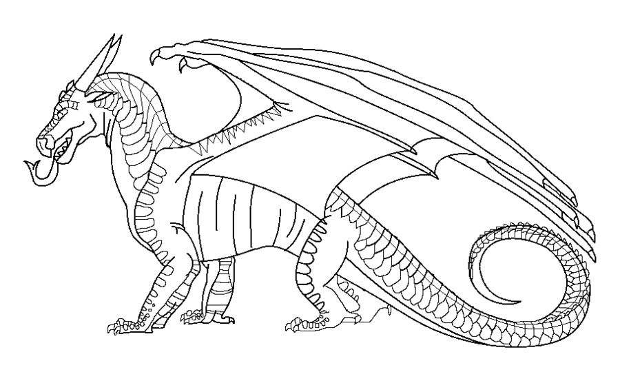 Wings Of Fire Coloring Pages - Wings Fire Seawing Coloring Pages Coloring Pages