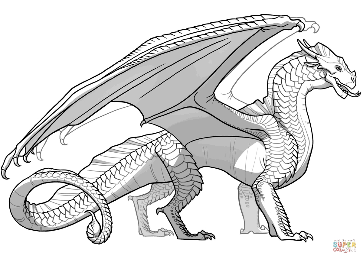 20 Wings Of Fire Coloring Pages Images | FREE COLORING ...