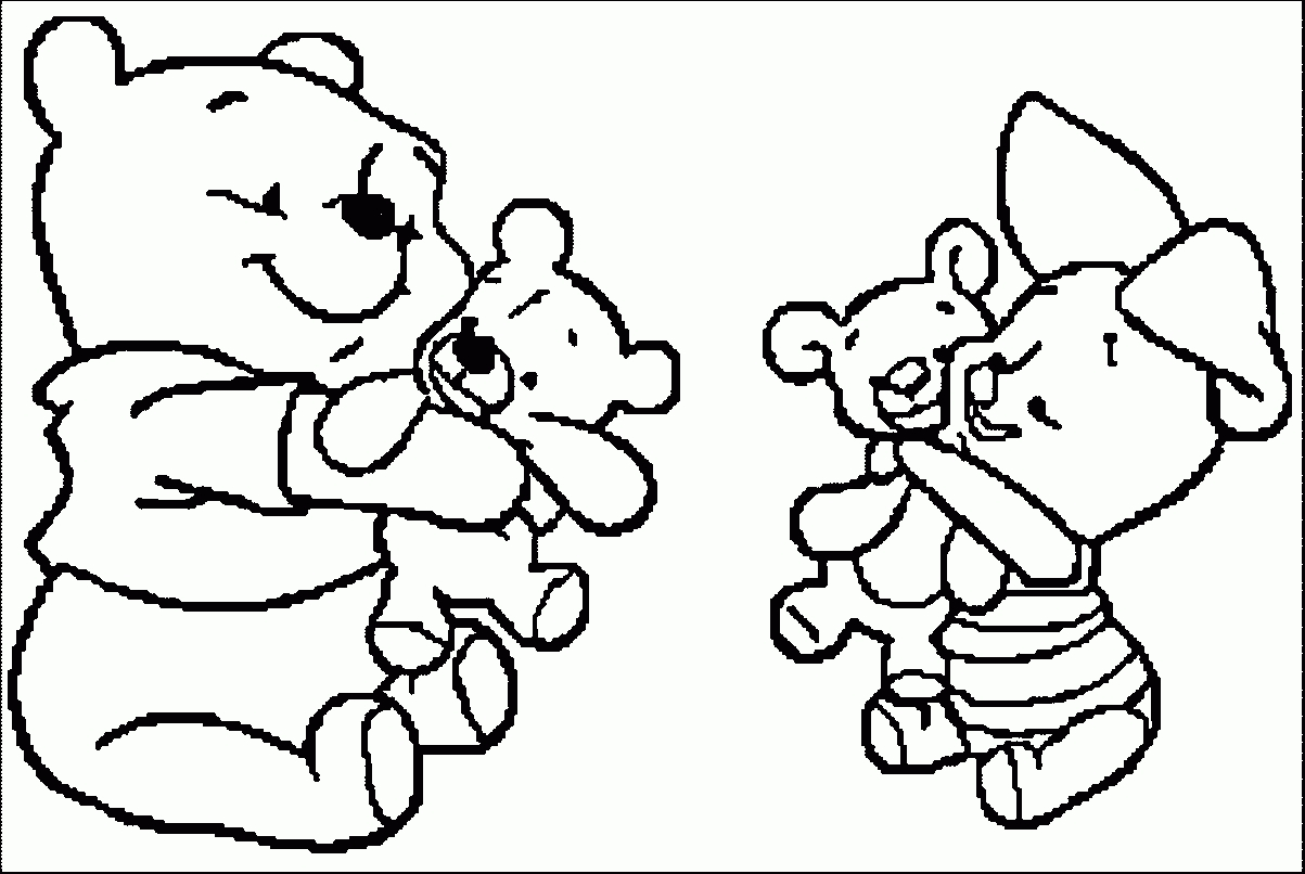 winnie the pooh coloring pages - baby piglet coloring page winnie de pooh and piglet coloring pages az coloring pages