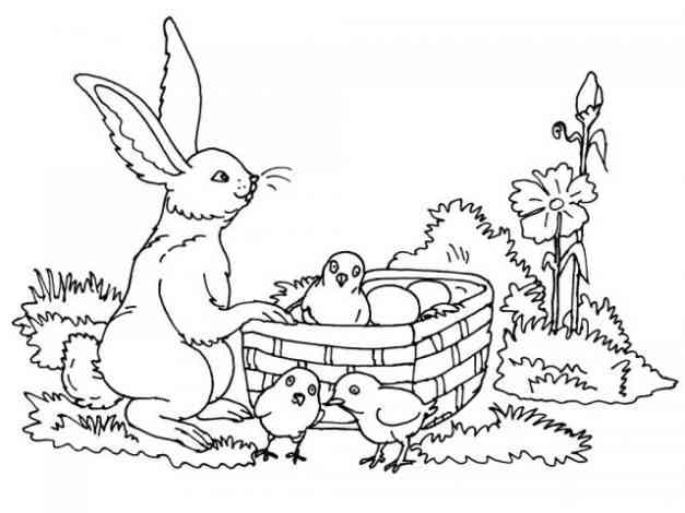 winnie the pooh coloring pages - ostern 18