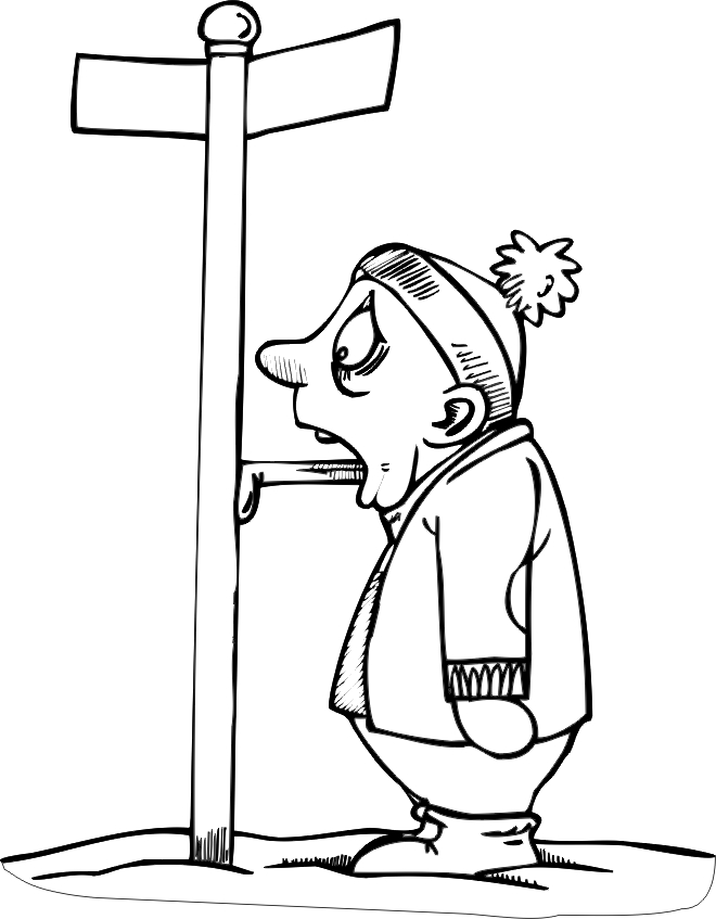 Winter Coloring Pages Adults - Hot Funny Winter Coloring Pages
