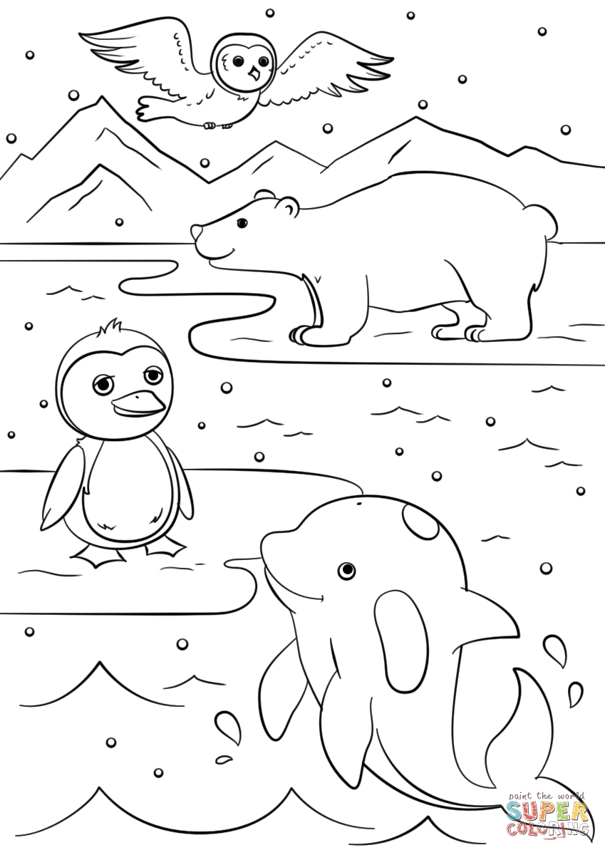 21 Winter Coloring Pages for Preschool Images | FREE COLORING PAGES ...