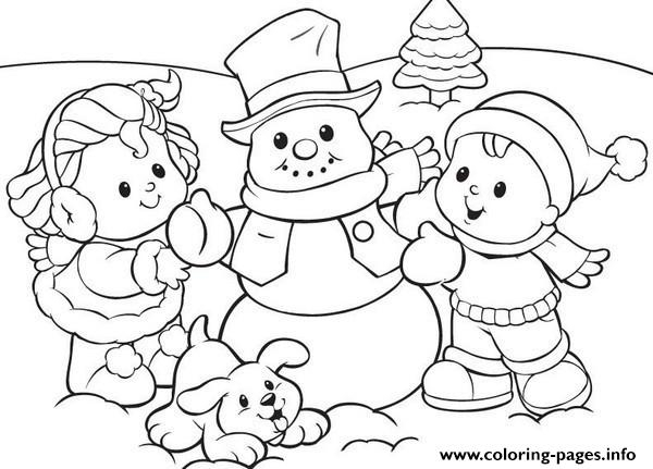 winter coloring pages for preschool - free winter coloring pages for kids archives adults