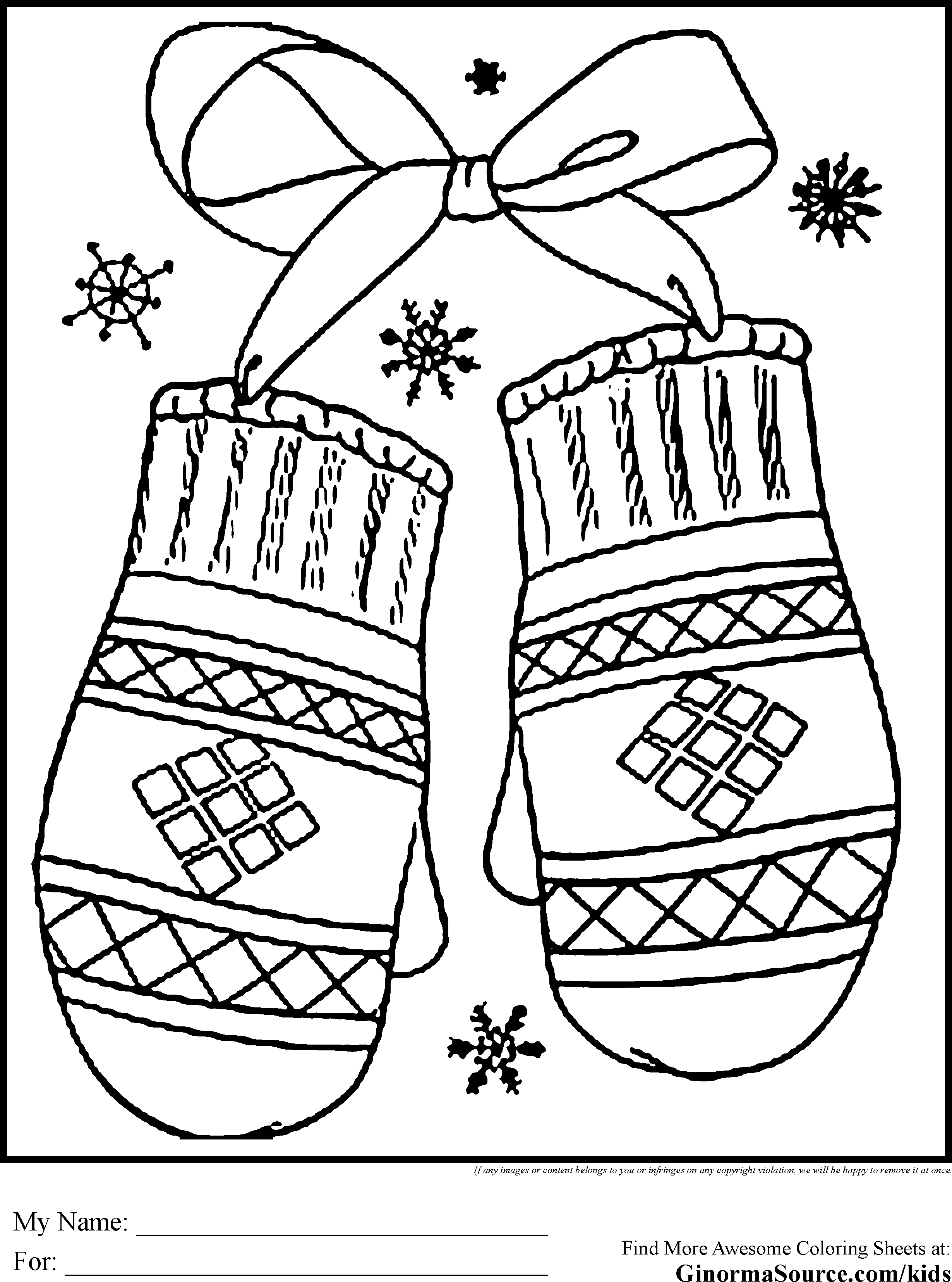 21 Winter Coloring Pages for Preschool Images | FREE COLORING PAGES