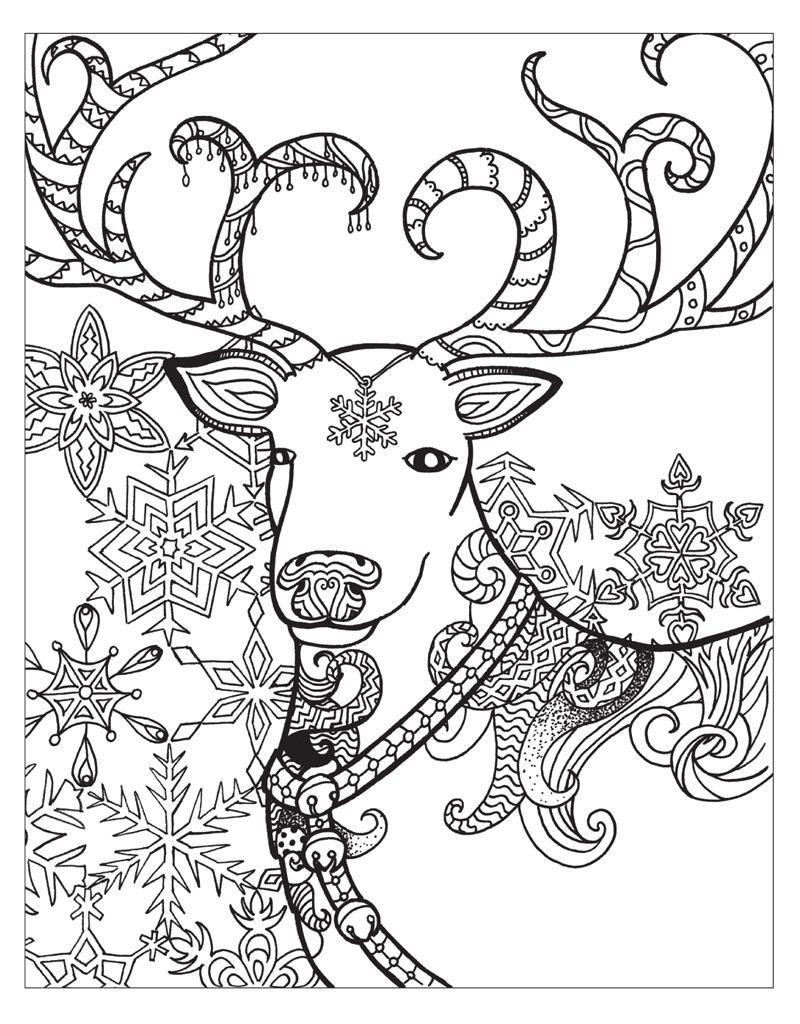 winter wonderland coloring pages -