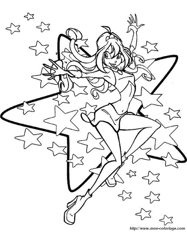 winx coloring pages - img id img=7978
