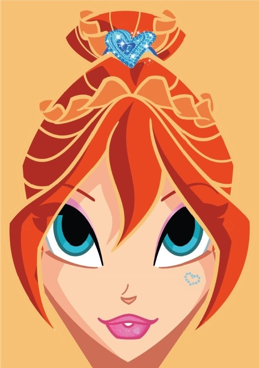 winx coloring pages - winx club printable masks paper dolls and coloring pages