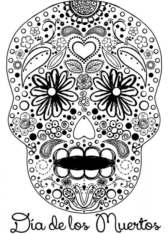 wizard of oz coloring pages - sugar skull coloring pages adults printable