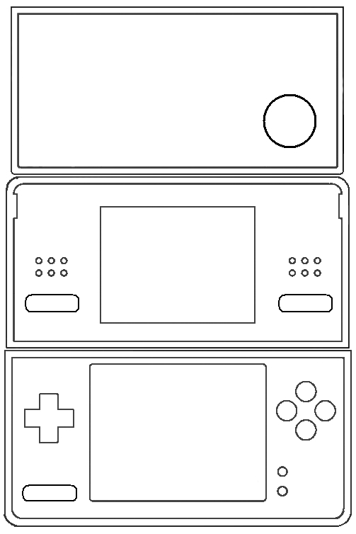 Wolf Coloring Pages Printable - Dslite Dsi Sticker Template by Tattletail On Deviantart