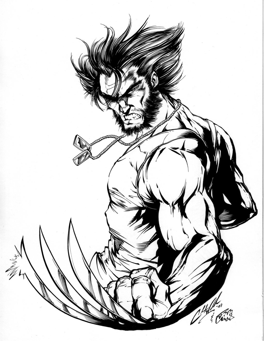 Wolverine Coloring Pages - Free Printable Wolverine Coloring Pages for Kids