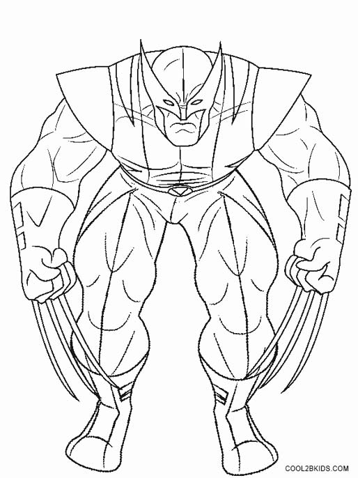 25 Wolverine Coloring Pages Compilation | FREE COLORING PAGES - Part 2
