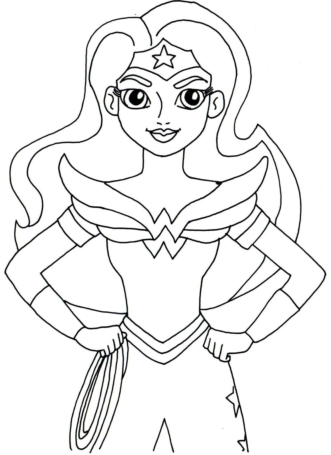 Wonder Woman Coloring Pages - Wonder Woman Coloring Pages Best Coloring Pages for Kids