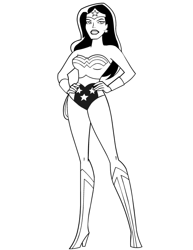 wonder woman coloring pages - wonder woman logo coloring pages