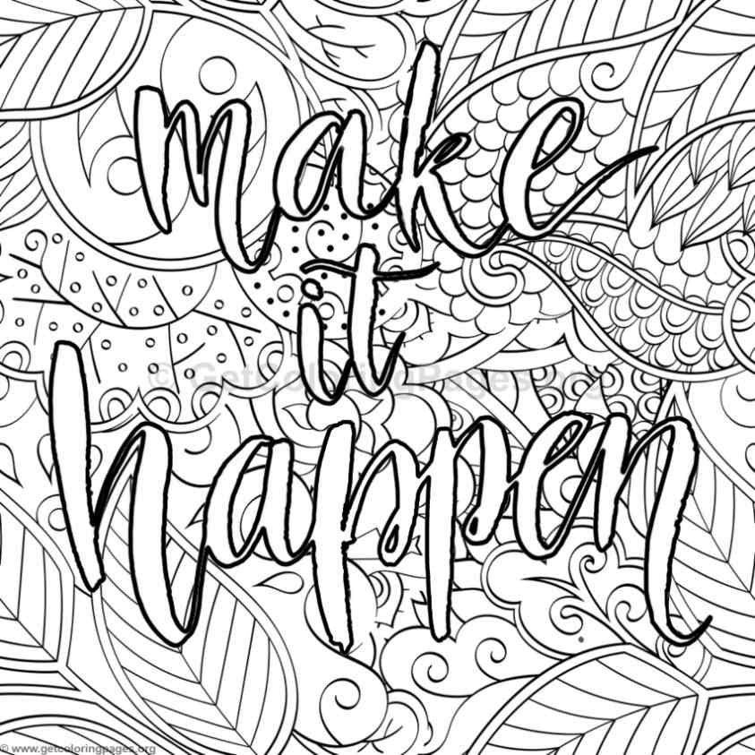 21 Word Coloring Page Generator Printable | FREE COLORING PAGES - Part 2