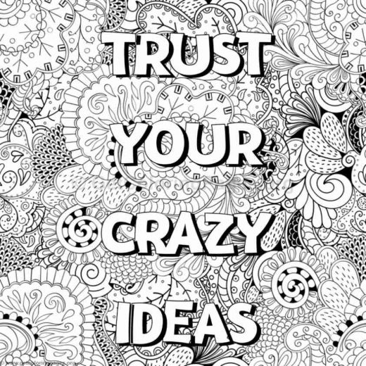 Word Coloring Page Generator