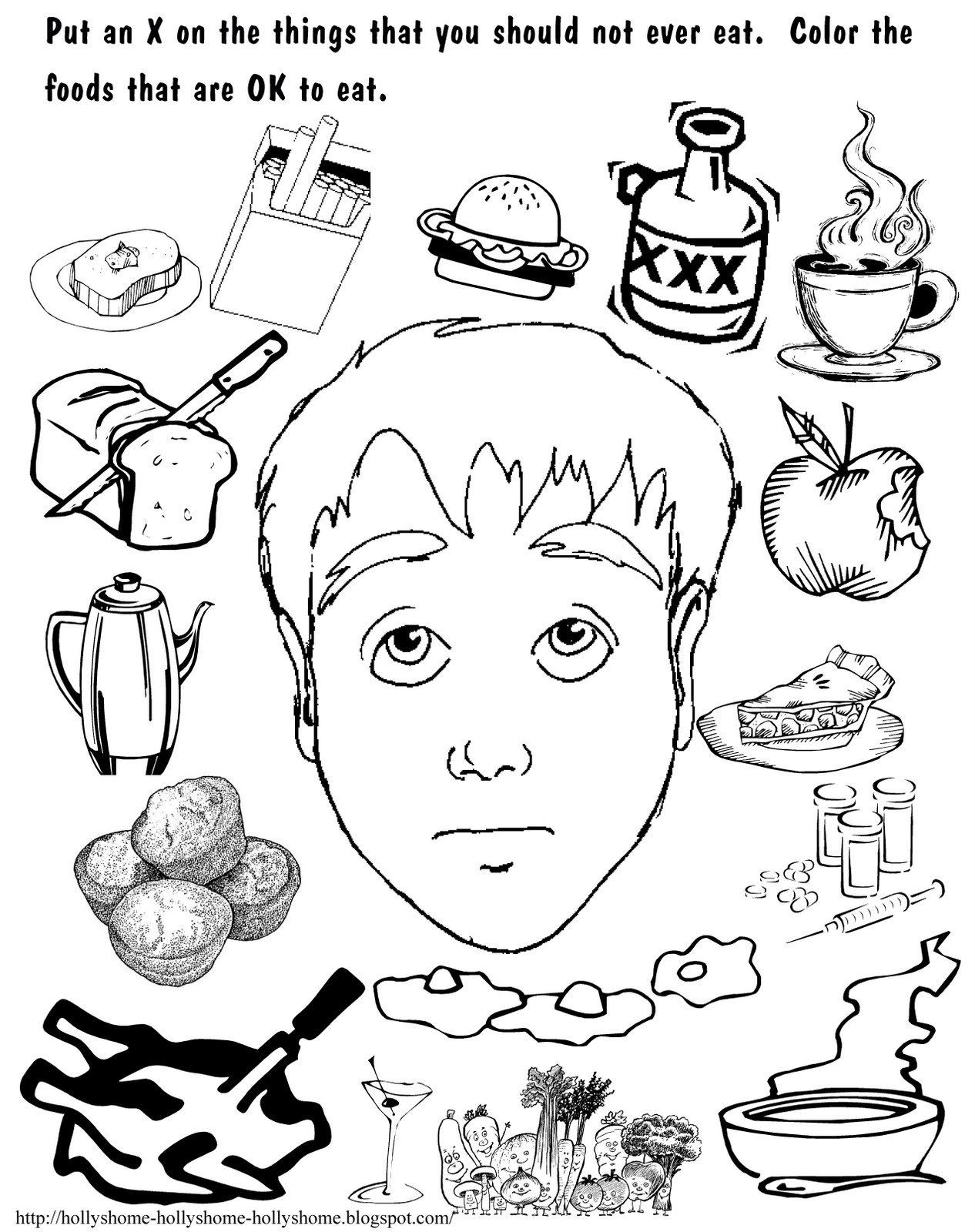 word of wisdom coloring page - 2011 06 01 archive