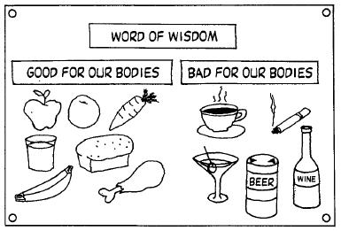 word of wisdom coloring page - index option= content&view=article&id=2961