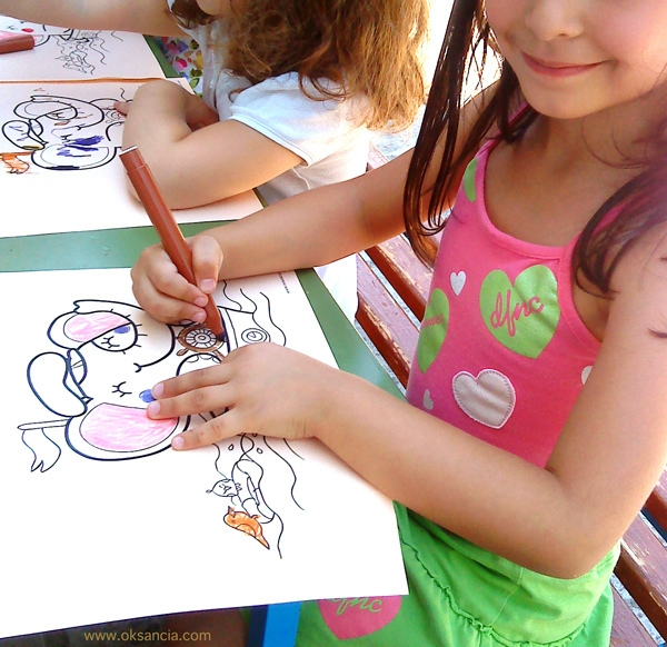 world coloring pages -