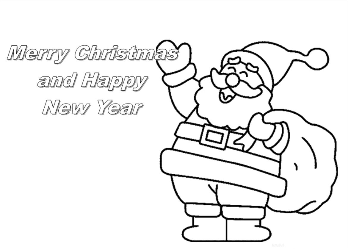 wreath coloring page - christmas card coloring pages