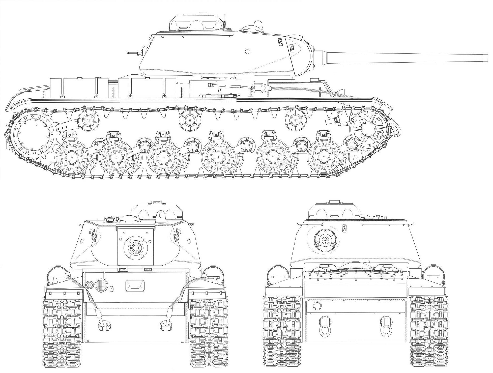 ww2 coloring pages - KV 85 bp