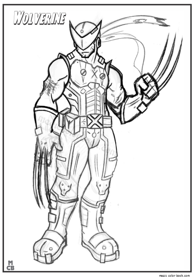 24 X Men Coloring Pages Collections | FREE COLORING PAGES - Part 3