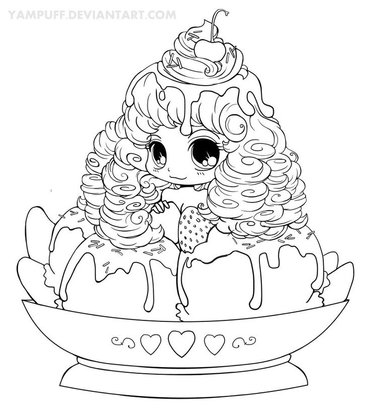 yampuff coloring pages - coloring page
