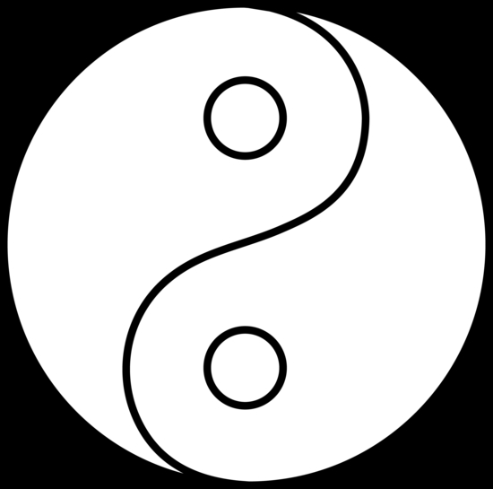 yin yang coloring pages - q=yinyang