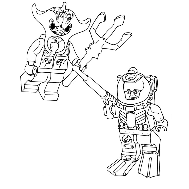 yo gabba gabba coloring pages - coloriage lego chima