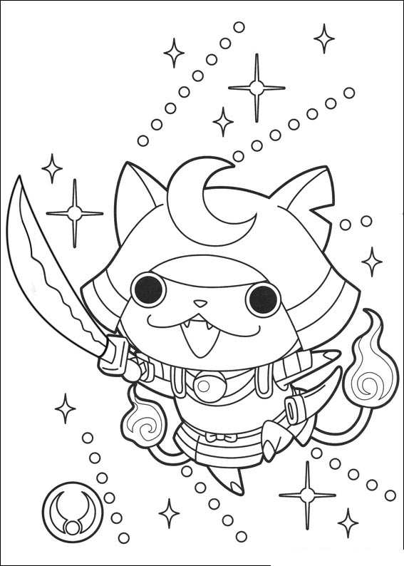 yo kai coloring pages - yo kai coloring pages sketch templates