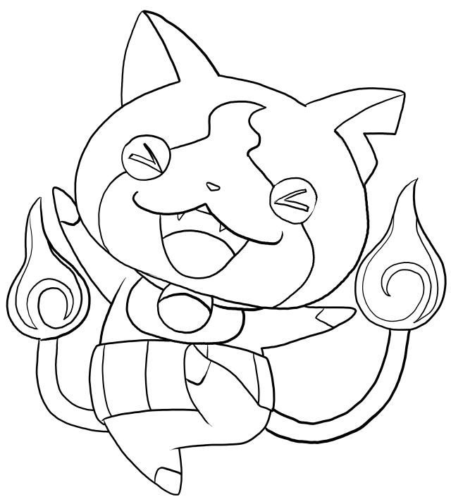 Yo Kai Coloring Pages