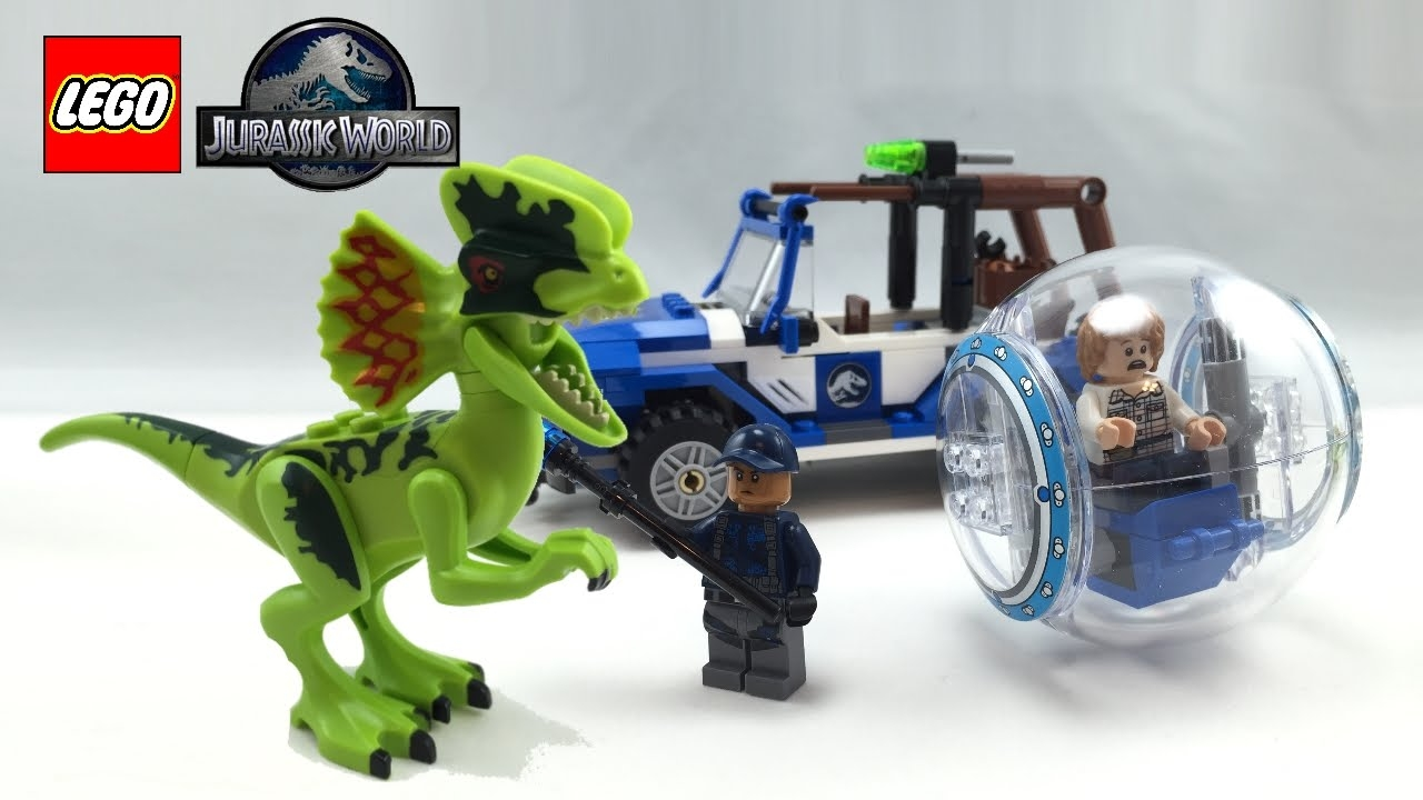 Yoga Coloring Pages - Lego Jurassic World Dilophosaurus Ambush Set Review