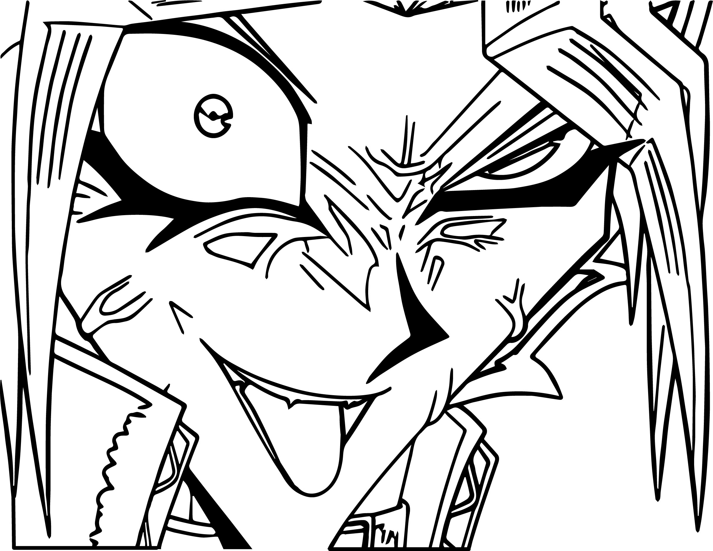 yugioh coloring pages - crazy yu gi oh yugioh character coloring page