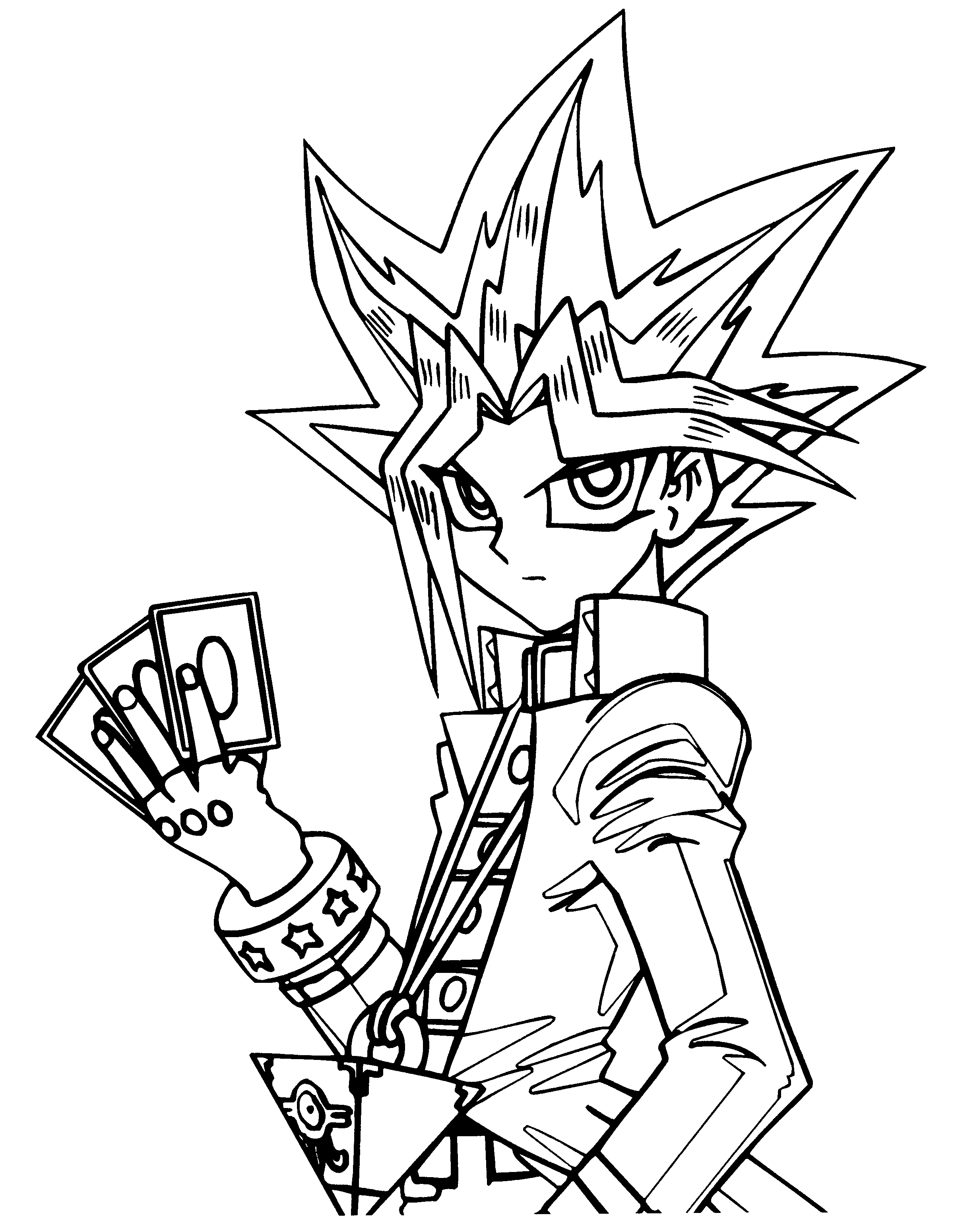 Yugioh Coloring Pages - Yu Gi Oh Coloring Pages
