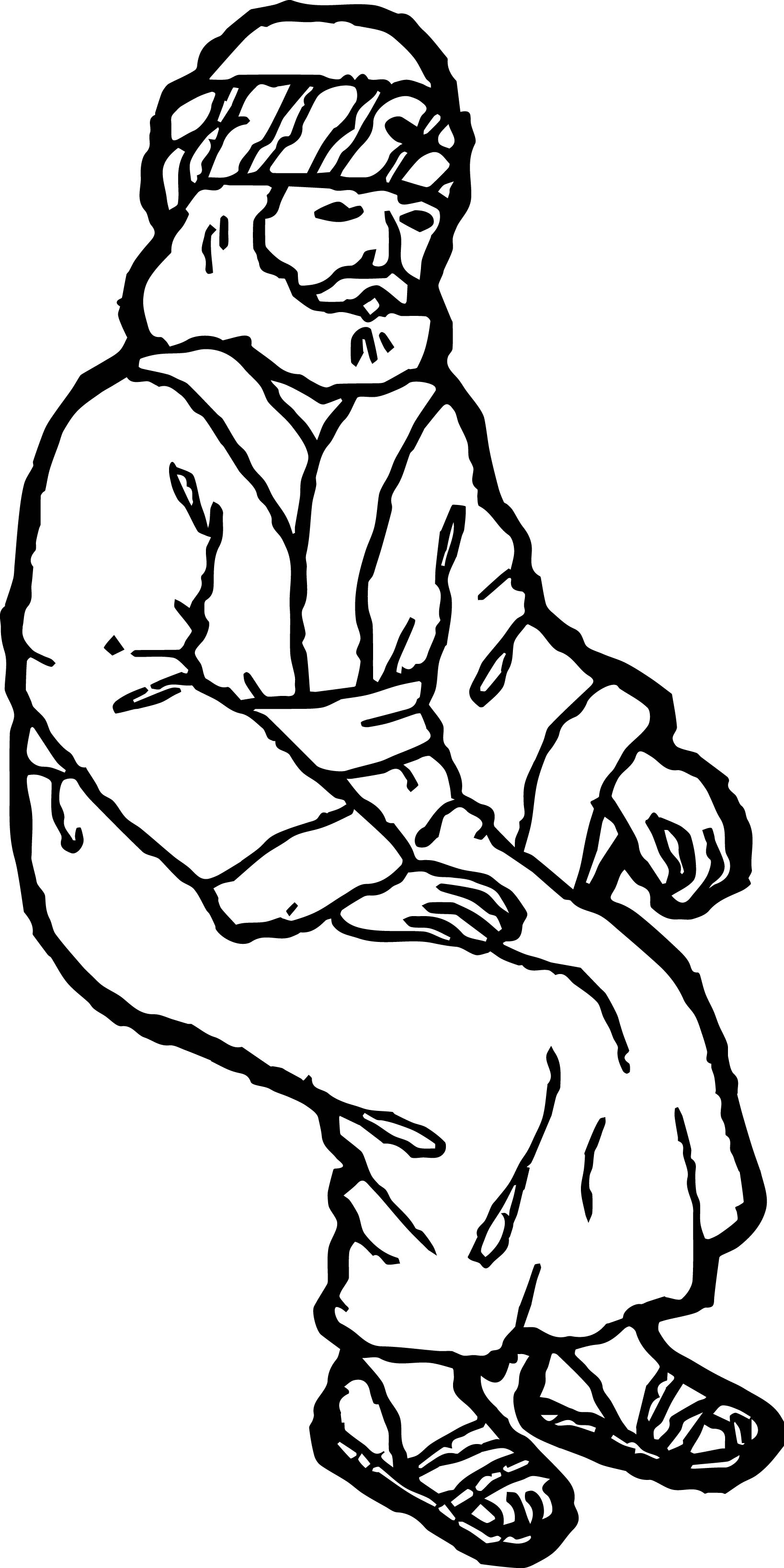 zacchaeus coloring page - staying zacchaeus jesus coloring page
