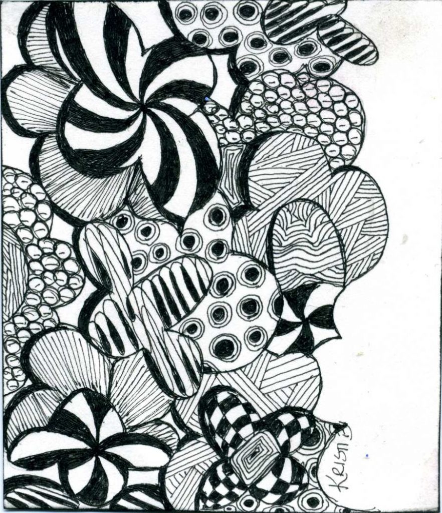 zentangle coloring pages - free printable zentangle coloring pages adults