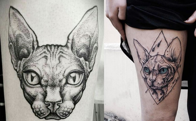 zodiac coloring pages - tatuajes de gatos