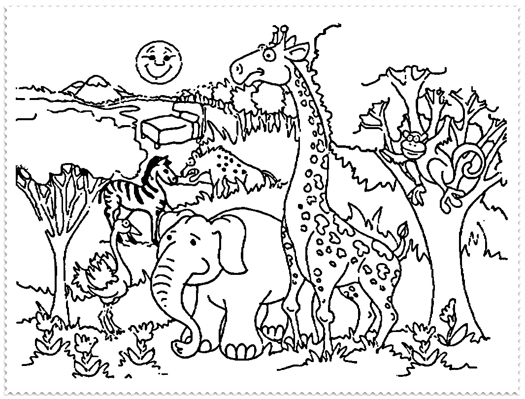 zoo coloring pages - zoo coloring page printable zoo coloring pages for kids thecoloringpage free coloring pages for kids