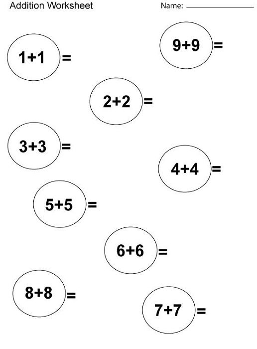 1st Grade Math Worksheets Printable